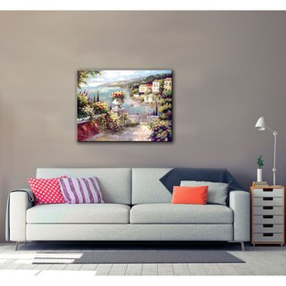 ArtWall Peter Bell's Capri Vista II, Gallery Wrapped Canvas
