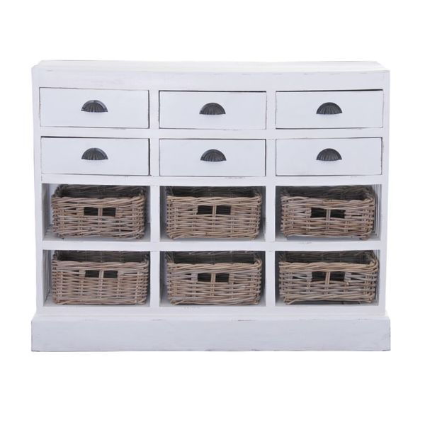 The Marlowe Chest with 6 baskets