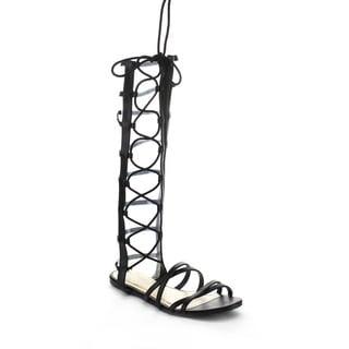 BAMBOO RAKU-65S Women's Gladiator Flat Sandals