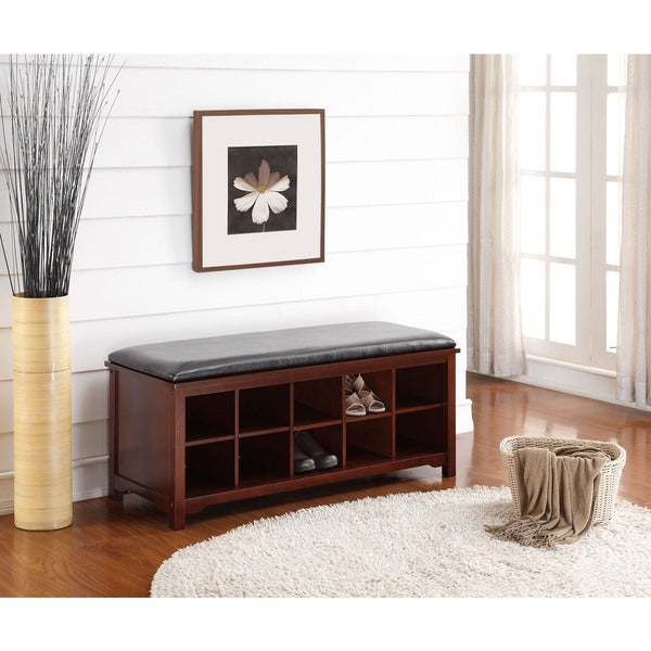 Linon Joan Storage Bench