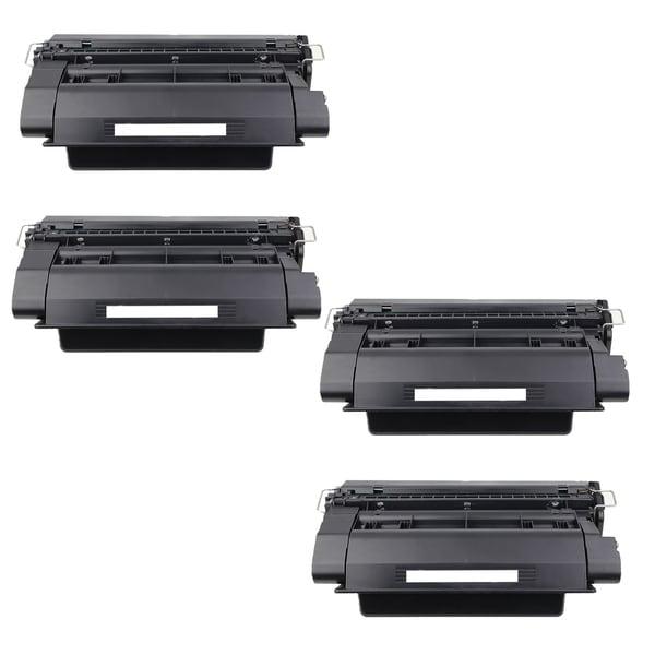 4-pack Compatible CE390A Toner Cartridges for HP LaserJet Enterprise 600 M601DN M602DN M603N M603XH (Pack of 4)