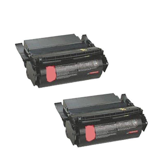 2-pack Compatible 1382620 1382625 Toner Cartridge for Lexmark Optra S 4059 1200 1250 1650 2450 (Pack of 2)