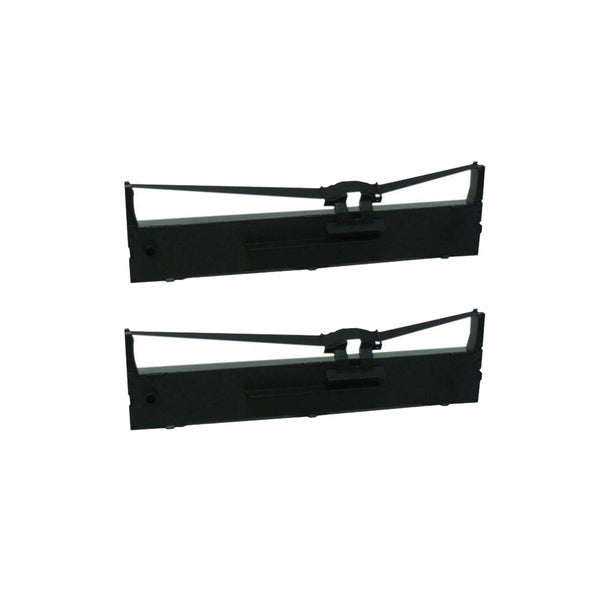 2-pack Compatible S015327 Ribbons for Epson FX-2190 LQ-2090 (Pack of 2)