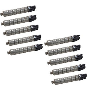 10-pack Compatible 841280 Toner Cartridges for Ricoh Aficio MP C2030 2050 2550 (Pack of 10)
