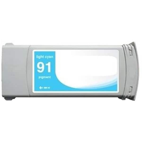 1-pack Compatible C9470A #91 Ink Cartridge for HP DesignJet Z6100 Series (Pack of 1)