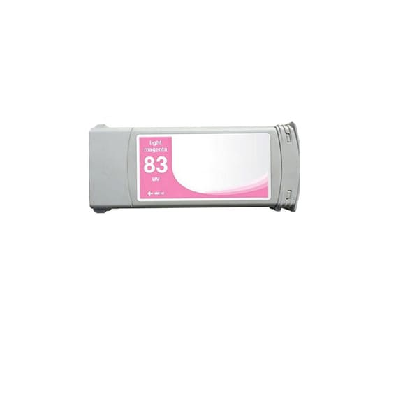 1-pack Compatible C4945A #83 Light Magenta Ink Cartridge for HP DesignJet 5000 5500 (Pack of 1)