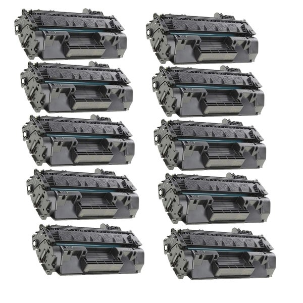 10-pack Compatible CF280X 80X Toner Cartridges for HP LaserJet Pro 400 MFP M401A M401D M401N M425DN (Pack of 10)