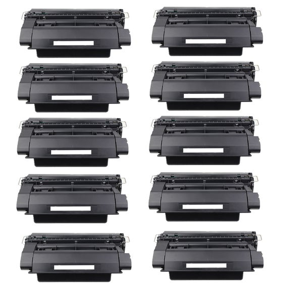 10-pack Compatible CE390A Toner Cartridges for HP LaserJet Enterprise 600 M601DN M602DN M603N M603XH (Pack of 10)