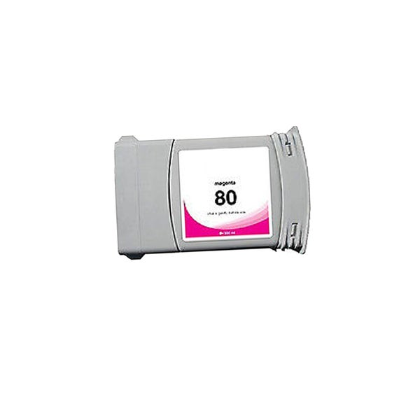 1-pack Compatible C4847A #80 Ink Cartridge for HP DesignJet 1000 1050 1055 (Pack of 1)