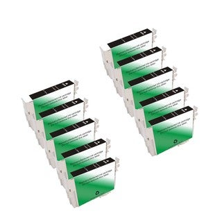 10-pack Compatible T097120 Black Ink Cartridge for Epson Workforce 510 515 600 610 (Pack of 10)