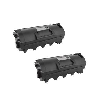 2-pack Compatible 62D1H00 621H Toner Cartridge for Lexmark MX710DE MX710DHE MX711DE MX711DHE MX711DTHE MX810DE (Pack of 2)