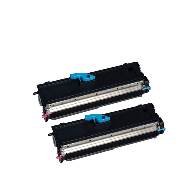 2-pack Compatible 9J04203 toner Cartridges for QMS PagePro 1400 1400W (Pack of 2)