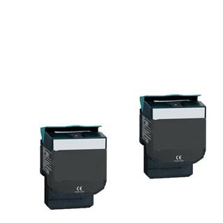2-pack Compatible C544X1KG Toner Cartridge for Lexmark C540N C543DN C544DN C544DTN C544DW C544N (Pack of 2)