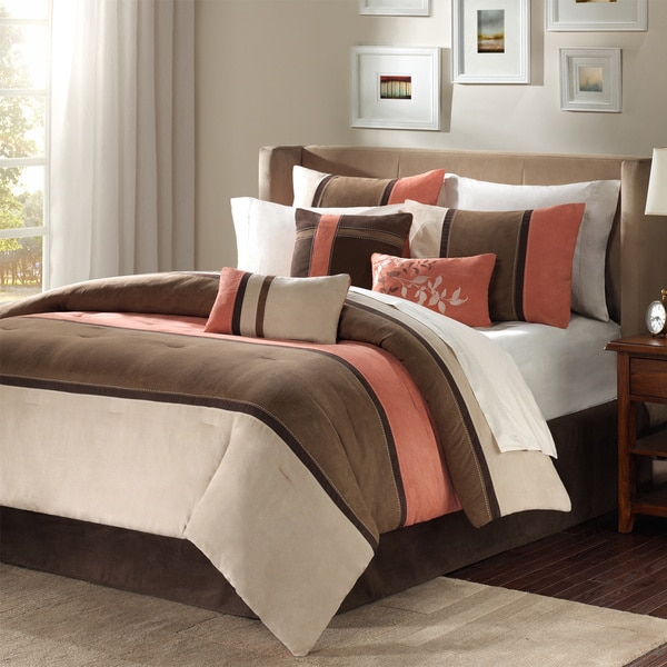 Madison Park Hanover 7-piece King Size Comforter Set (As Is Item)