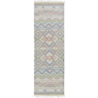 Hand Woven Marguerite Cotton Rug (2'6 x 8')