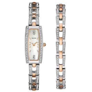 Bulova Women's Watch Boxed Set With Bracelet
