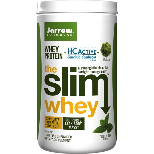 Jarrow Formulas Slim Whey Protein Green Tea Flavor
