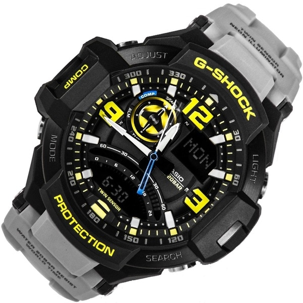 Casio G-Shock GA1000-8A Master of Gravity Analog-Digital Men's Watch