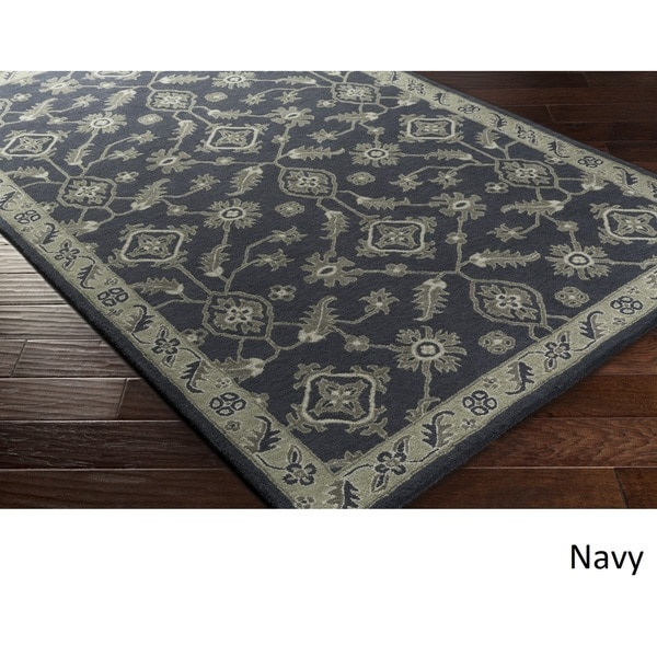 Hand Tufted Poole Wool Rug (4' x 6')