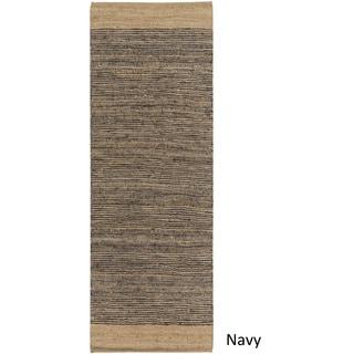 Hand Woven Sandbach Jute/Cotton Rug (2'6 x 8')