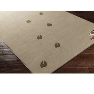 Mossy Oak : Machine Made Till Nylon Rug (1'10 x 2'11)