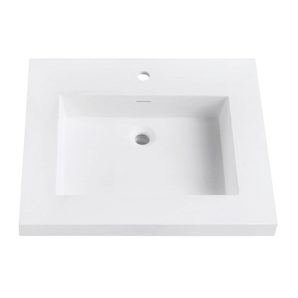 VersaStone 25-inch Solid Surface Vanity Top