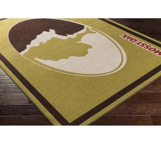 Mossy Oak : Machine Made Thiais Nylon Rug (8' x 10')
