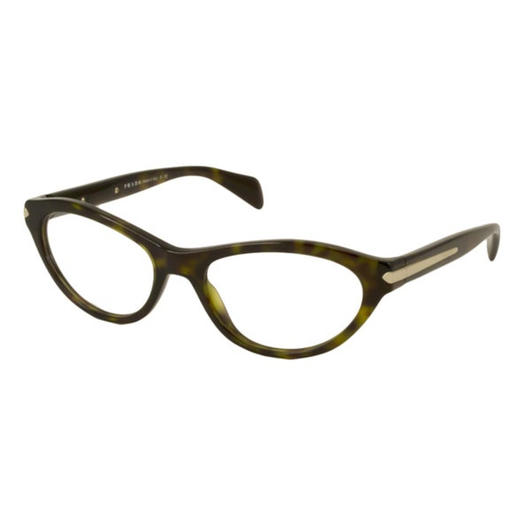 Prada Womens PR18PV Cat-Eye Reading Glasses
