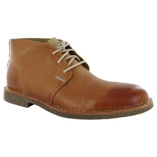 Cole Haan Mens Glenn RBR Leather Chukka Boots