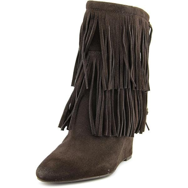 Denim & Supply Ralph Lauren Women's 'Donata' Regular Suede Boots (As Is Item)