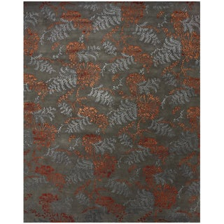 """Feizy Hand Knotted Wool & Viscose Dayuan Rug 7'-9"""" X 9'-9"""""""