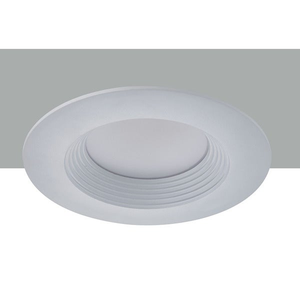 Elegant Lighting Elitco 6-Inch 13-Watt 3000k White Round Retrofit Downlight
