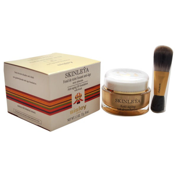Sisley Skinleya Anti-Aging Lift Foundation with Brush #50 Biscuit