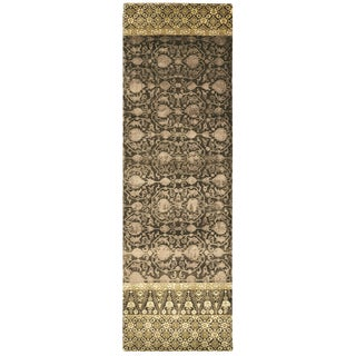 """Feizy Hand Knotted Wool & Art Silk Russell Rug In Raisin 2'-6"""" X 8'"""