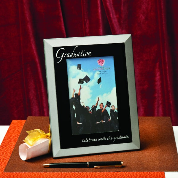 Fashioncraft Metal Graduation Photo Frame