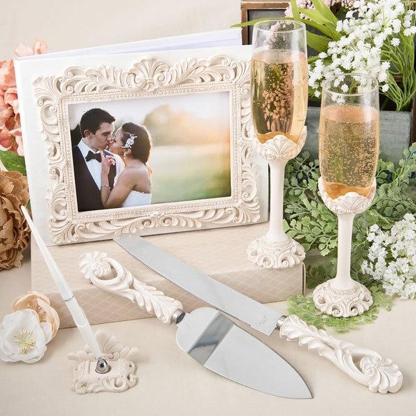 Fashioncraft Baroque Design Wedding Accessory Set
