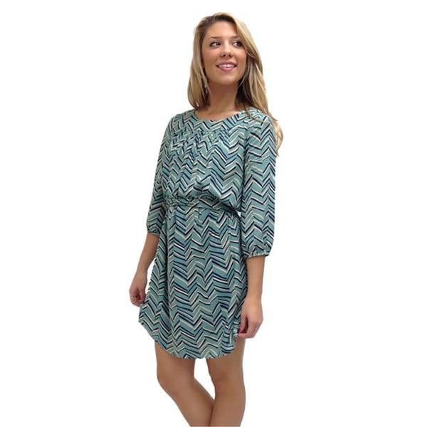 Relished Women's Shifting Sunset Dress