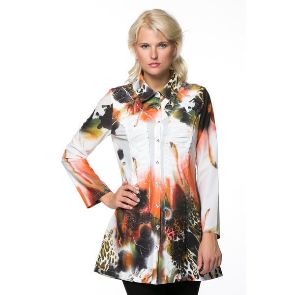 High Secret Women's Printed Tunic Dress