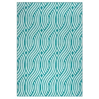 Rizzy Home Glendale Collection GD5950 Accent Rug (6'7 x 9'6)