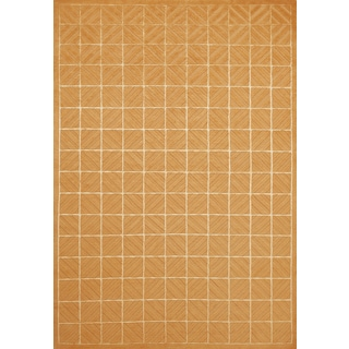 Grand Bazaar Hand-knotted Wool and Silk Chadwick Rug in Copper (8'6 x 11'6)