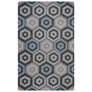 Rizzy Home Marianna Fields Collection MF9519 Area Rug (9' x 12')