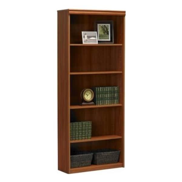 Altra 5-Shelf Expert Plum Bookcase