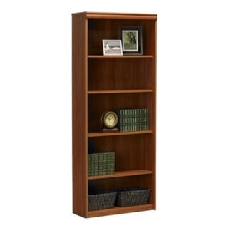 Altra 5-Shelf Expert Plum Bookcase