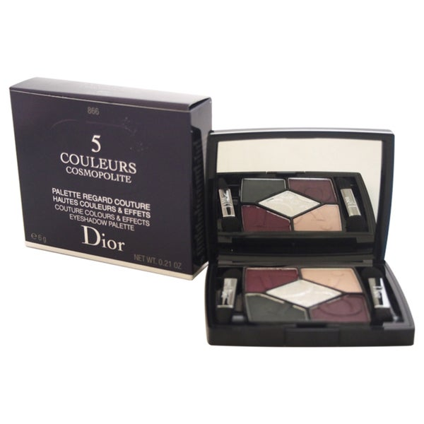 Dior 5 Couleurs Cosmopolite Eyeshadow Palette 866 Eclectic