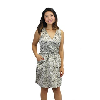Relished Women's Botanical Brocade Dress