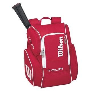 Wilson Tour V Large Backpack Red