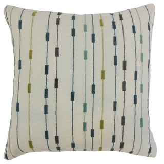 Ancelin Stripes 18 inch Down and Feather Filled Throw Pillow