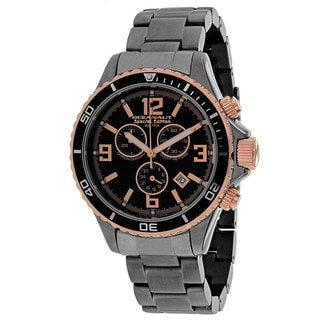 Oceanaut Men's OC8334 Baltica Special Edition Round Gunmetal Stainless Steel Bracelet Watch