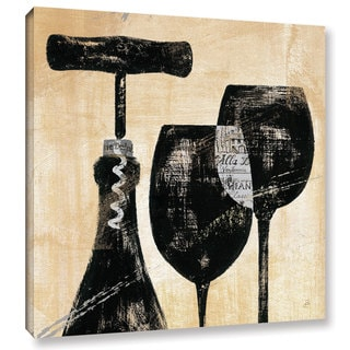 ArtWall Daphne Brissonnet's Wine Selection 2, Gallery Wrapped Canvas