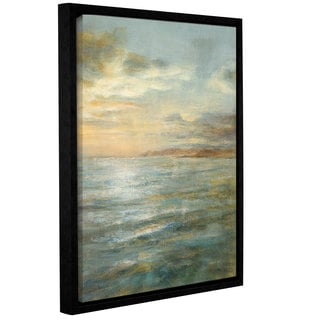 ArtWall Danhui Nai's Serene Sea 3, Gallery Wrapped Floater-framed Canvas